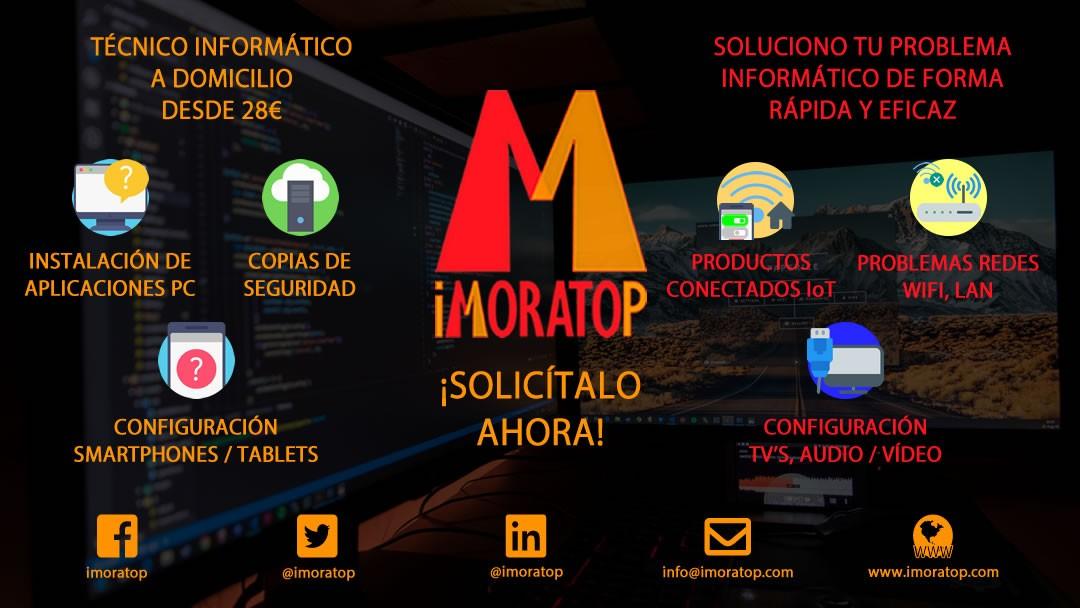Técnico informático a domicilio en Madrid desde 28€
