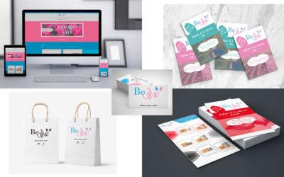 Diseño web y gráfico de la nueva tienda online de BeMe-Store