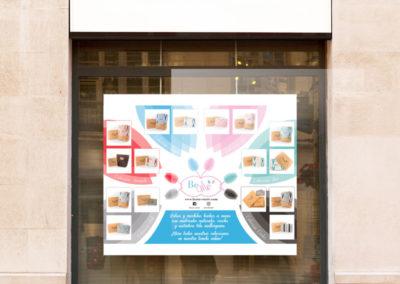Diseño de cartelería - BeMe Store