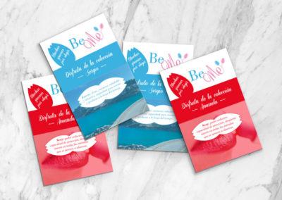 Diseño de flyers - BeMe Store